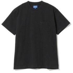(BEAMS MEN/ビームス メン)BEAMS/ハイゲージ ポケット Tシャツ/メンズ BLACK