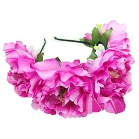 ★花髪飾りコサージュ花カチューシャ(C0018800-A-3) (pink)