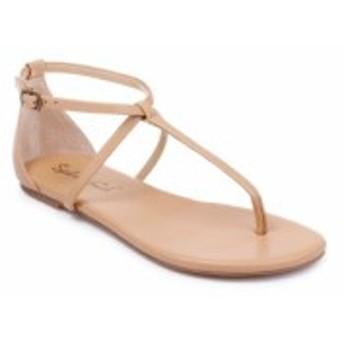 スプレンディッド SPLENDID レディース サンダル・ミュール シューズ・靴 Sundae T-Strap Sandal Nude Leather