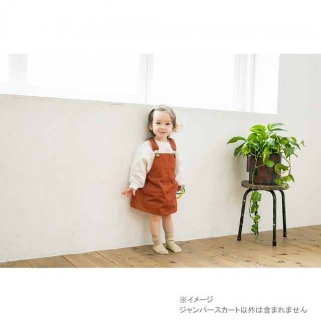 ベビーザらス限定 Buddy Lee ジャンパースカート ツイル(オレンジ×70-80cm)