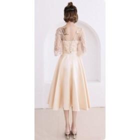 ブライズメイドドレス 花嫁 ドレス 演奏会 結婚式 二次会 パーティードレス 卒業式