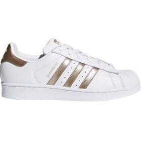 アディダス adidas レディース スニーカー シューズ・靴 Originals Superstar Fashion Sneakers White/Metallic Gold