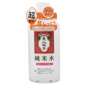 リアル 美人ぬか 純米水 特にしっとり化粧水 130mL