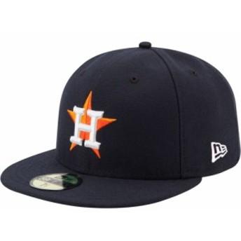 ニューエラ New Era メンズ キャップ 帽子 Houston Astros 59Fifty Home Navy Authentic Hat