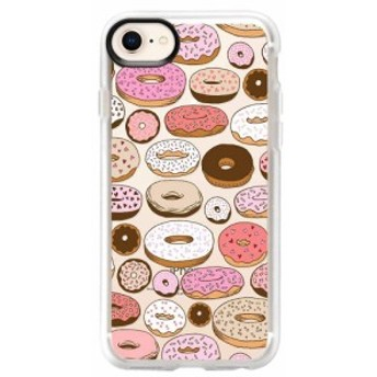 ケースティファイ CASETIFY レディース iPhone (8 Plus)ケース Donuts Forever iPhone 6/7/8 & 7/8 Plus Case Multi Pink