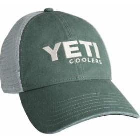 イエティ YETI メンズ キャップ 帽子 Washed Low Profile Trucker Cap Green