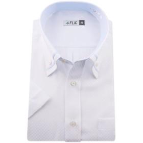 FLiC 半袖 ワイシャツ 形態安定 Lサイズ ノーマル 【snt/sst】snt-l-snt1008