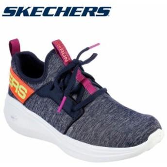スケッチャーズ SKECHERS GO RUN FAST-LIVELY 17617-NVMT レディースシューズ 19FW