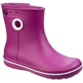 [Crocs] (クロックス) レディース Jaunt ショート丈 ブーツ 長靴 婦人靴 レインブーツ 女性用 (4 UK) (ベリー)