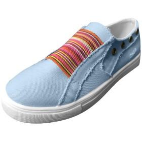 [LQQSTORE] フラットシューズ 婦人向けピーズシューズ夏フラット底シングルシューズ混色カジュアルスニーカー デニムジッパーワンペダルフラット怠惰な靴 女性シューズ レディースシューズ 靴