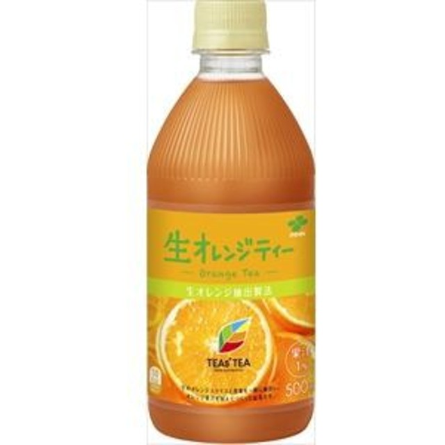 伊藤園 TEAs'TEA 生オレンジティー P500ml×24入