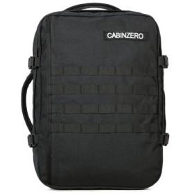 (Bag & Luggage SELECTION/カバンのセレクション)キャビンゼロ リュック ミリタリー 36L (正規25年保証) メンズ レディース cabin zero ミドル 機内持ち込み 大容量 旅行 トラベル/ユニセックス ブラック