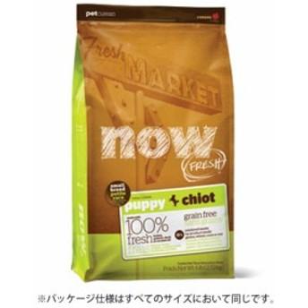新鮮な食材 ナウフレッシュ グレインフリー スモールブリード パピー 11.3kg ドッグフード NOW FRESH Grain Free