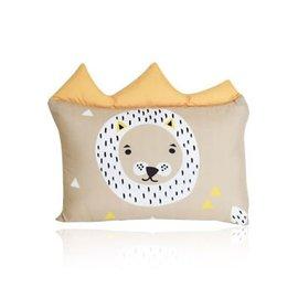 【淘氣寶寶】韓國 DreamB 透氣防蹣護頭型嬰兒枕-獅子【100%韓國製造,透氣防蹣護頭型嬰兒枕】