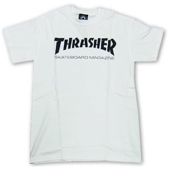 スラッシャーマガジン THRASHER 半袖 Tシャツ スケートマグ ホワイト L