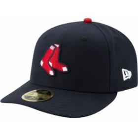 ニューエラ New Era メンズ キャップ 帽子 Boston Red Sox 59Fifty Alternate Navy Low Crown Fitted Hat