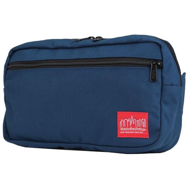 カバンのセレクション マンハッタンポーテージ ウエストバッグ ボディバッグ メンズ レディース Manhattan Portage MP1109 ユニセックス ネイビー 在庫 【Bag & Luggage SELECTION】