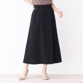 grove グローブ サイドボタンチノフレアスカート