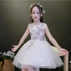 女の子ドレス 子供ドレス キッズドレス パーティーショート丈 膝丈 発表会 結婚式 演奏会 フォーマル お姫様