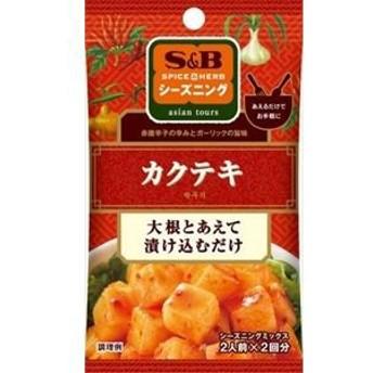 ヱスビー食品(S&B) シーズニング カクテキ 2人前×2回分×10入