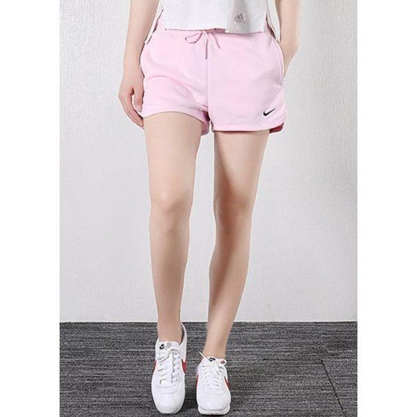 x[TellCathy]NIKE 女 AS W NSW SHORT FLC LOGO TAPE 運動短褲 AR3013-663