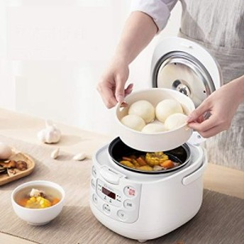 ミニ炊飯器ホーム スマート予定 1-2-3-4 人小米炊飯器寮炊飯器蒸し器とスロ(新品未使用の新古品)
