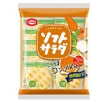 亀田製菓 ソフトサラダ こくうまコンソメ味 18枚×12入(8月下旬頃入荷予定)