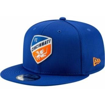 ニューエラ New Era メンズ キャップ 帽子 MLS FC Cincinnati 9Fifty Snapback Adjustable Hat