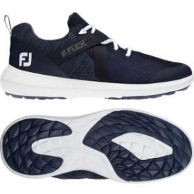 フットジョイ FootJoy メンズ シューズ・靴 ゴルフ Flex Golf Shoes Navy