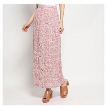 ハニーミーハニー HONEY MI HONEY flower crinkle skirt/フラワークリンクルスカート (pink)