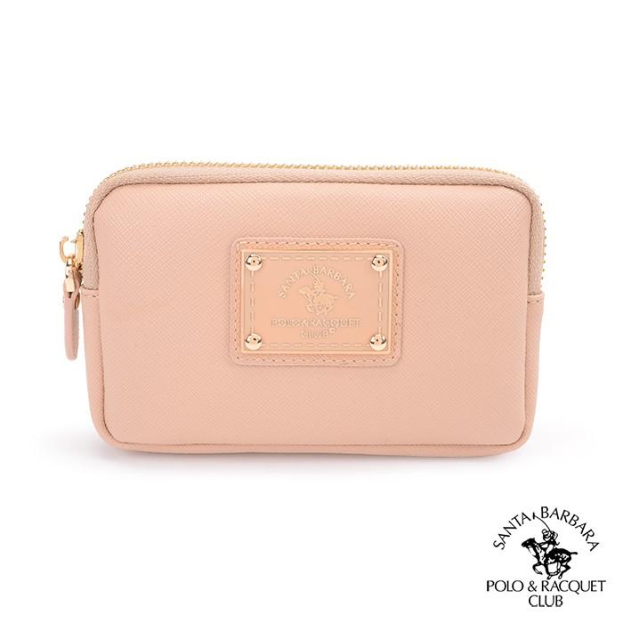 SANTA BARBARA POLO.聖大保羅 幸福微糖系列 鑰匙零錢包-粉膚色 SB58-04212