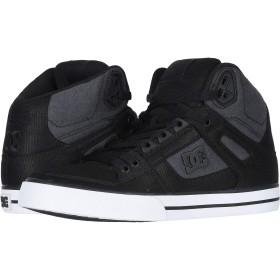 [DC(ディーシー)] メンズスニーカー・靴 Pure High-Top WC Black Dark Used 16 (34cm) D - Medium [並行輸入品]