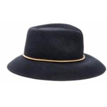 エリック ジャヴィッツ ERIC JAVITS レディース ハット 帽子 Beatriz Wool Felt Fedora Black