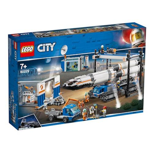 LEGO 樂高 60229 Rocket Assembly &Transport