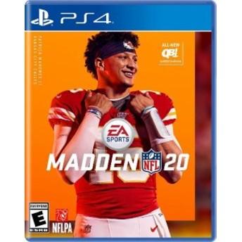 PS4 Madden NFL 20(マッデンNFL 20 北米版)〈Electronic Arts〉[新品]