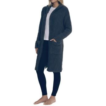 [ベアフットドリームス] コート型カーディガン レディース CozyChic Nor-Cal Coat Slate Blue/ネイビー系 Sサイズ [並行輸入品]