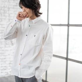 [マルイ] オックスフォードクレイジーボタンレギュラーカラーシャツ/コーエン(メンズ)(coen)