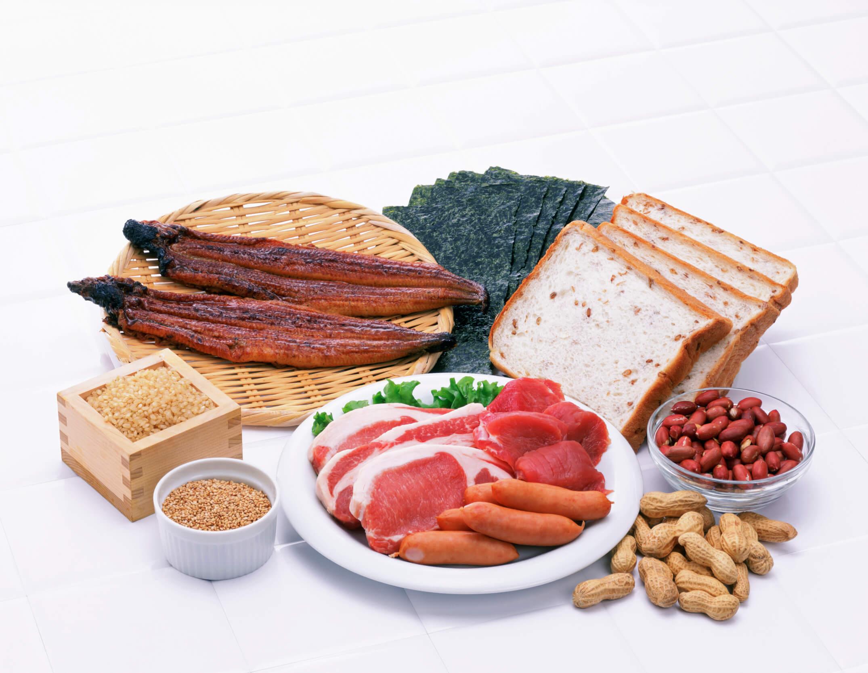 ビタミンB1を含む食材