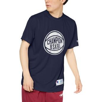 [チャンピオン] ドライセーバーTシャツ バスケットボール C3-QB341 メンズ ネイビー 日本 XXL (日本サイズ3L相当)
