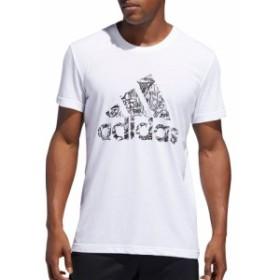 アディダス adidas メンズ トップス バスケットボール Filled Badge of Sport Basketball T-shirt White