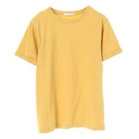 イーハイフンワールドギャラリー E hyphen world gallery ロールUPスリーブTシャツ (Yellow)
