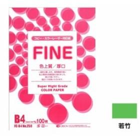 色上質パック厚口 FC-B4 若竹