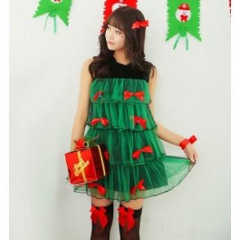 コスプレ クリスマスツリー コスチューム クリスマス衣装