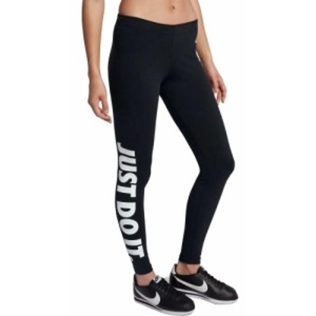ナイキ Nike レディース スパッツ・レギンス インナー・下着 Sportswear Just Do It Leg-A-See Leggings Black