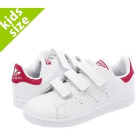 【キッズサイズ】【17.0〜21.5cm】 adidas STAN SMITH CF C 【adidas Originals】 アディダス スタンスミス CF C WHITE/RED