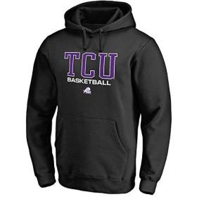 Fanatics Branded Fanatics Branded TCU Horned Frogs Black True Sport Basketball Pullover Hoodie スポーツ用品 4XL 【並行輸入品】