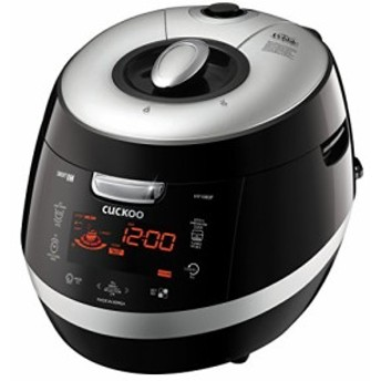 Cuckoo CRP-HY1083F 10 Cup Pressure Rice Cooker 110V Black by Cuckoo(新品未使用の新古品)