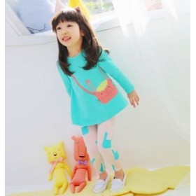 子供服 tシャツ+ズボン 女の子 可愛い 長袖 2点セット パジャマ
