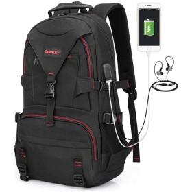 tanggo リュック ビジネスリュック バックパック リュックサック 大容量 USB充電ポート盗難防止 15.6インチPC対応 リュック 多機能 撥水加工 A4 耐衝撃 人気 通勤 出張 旅行 通学 男女兼用 おしゃれ