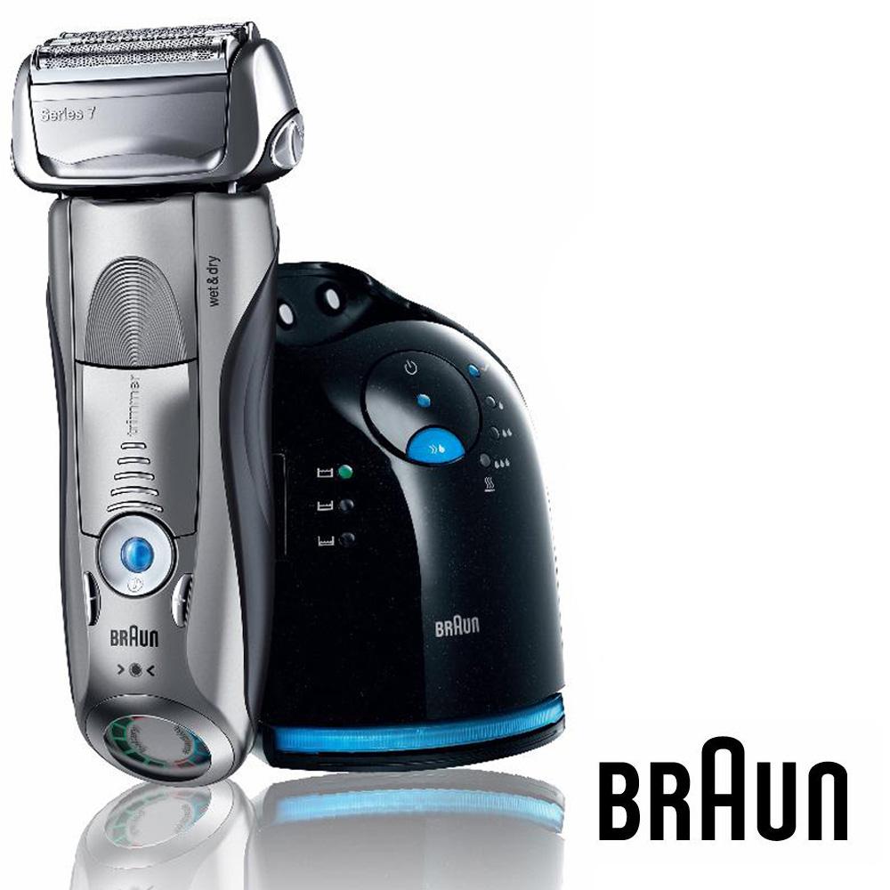 展示出清BRAUN 德國百靈 Series 7 音波系列電鬍刀 790cc 父親節送禮首選